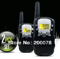 Wholesale New Generation pair walkie talkie t388 radio high walk talk range PMR446 radios or FRS GMRS way radios led flashlight