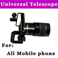 Yes Guangdong, China (Mainland)  Free drop shipping 8x Zoom Optical Lens for phone camera Universal Mobile Phone Telescope for all mobile phones