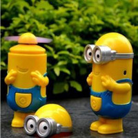 Wholesale The new quot little yellow people quot recharge mini fan portable small fan a358