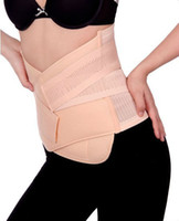 beige   Wholesale - Maternity Postpartum Corset Support Recovery Tummy Belly Waist Belt Shaper Slimming Body