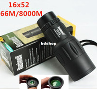 16x52 16X 52mm Toy telescope for Children Mini monocular night vision scope 16x52 (66m 8000m) pocket-size monoculars zoom Hunting Camping