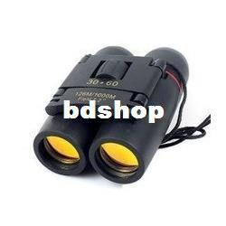 5pcs lot Promotions!! Binocular Day Night Binocular Telescope Folding 30 x 60 126M 1000M Free Shipping #S3003