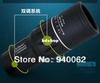Yes D4019 Goods in stock Dual Focus Monotonous 16x52 Zoom In 115M 8000M Field Monocular Telescope Sports Hunting Concert Spotting Scope with Green Film