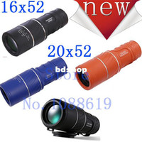 16*52 china black, orange(new) , blue(new) Dual Focus! Bamboo hd night vision monocular telescope double infrared glasses 16X52 non-IR this is link for black old style