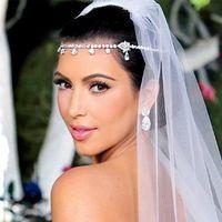 Rhinestone/Crystal custom made jewelry - 2014 Custom Made Fashion Shiny Wedding Bridal Jewelry Crown With Crystal Beads Handwork Tiaras Hair Headpieces Bridal Accessories Hot