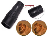 Yes 16x52  High Quality 16x52 LLL Night vision 16X52 66M 8000M Outdoor Hunting Monocular Telescope 100%NEW - Free shipping