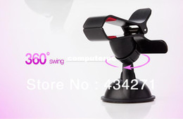 Wholesale 360 Degree Swing Car Holder Stand with Suck Base Stand for iPhone GPS