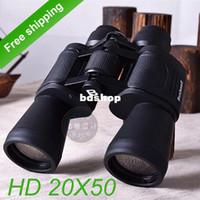 Cheap HD Military high-powered binoculars 20X50 zoom Optical military Binocular Telescope (1500m )World Cup - Free shipping