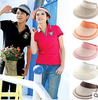 Wholesale M236 Visors Hats new arrival empty top hat Men and Women Visor