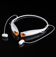 For Apple iPhone Bluetooth Headset  Wholesale - Hot sale HV-800 Wireless Bluetooth Stereo Headset Neckband Style Call Headphone with MIC Free shipping