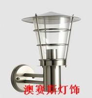 Modern gazebo steel gazebo - Waterproof stainless steel wall lamp fashion modern balcony lights outdoor lamp outdoor lamp gazebo garden lights