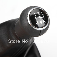 Wholesale New Speed GEAR SHIFT KNOB GAITOR BOOT FOR VW Passat B5 B5
