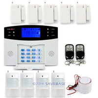 Wholesale Wired amp wireless Defenses Zones HOMSECUR Gsm Sms Alert Home Security System