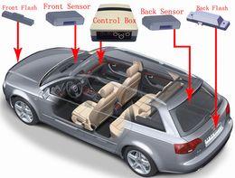 Wholesale Hot- New Item Car Auto Radar Resister Auto radar detector Prevent ticket Working for camera flashing light Free shipping