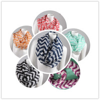 Wholesale 2014 women s scarf neck scarf Fashion Wide Chevron Wave Print Circle Scarf big Loop Infinity Ladies Scarves