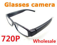 Wholesale spy P HD sunglasses camera mini Camcorder Hidden DVR Clear Gentle Glasses Eyewear cheap Wide angle Audio Video Recorder from coolcity2012