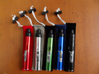 Wholesale 5 Colors Click N Vape Mini Herbal Vaporizer Trouch Flame Lighter With Built in Wind Proof Torch Lighter
