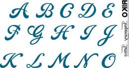 Wholesale Letter diy waterproof