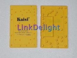 Wholesale DHL Screwmat for iphone S Optional Screw Holes Distribution Board Repair Work Holder Plastic Mat Memory Board