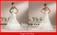 Other Reference Images Sweetheart GW39 Pepper Backless Lace Grecian Style Wedding Dresses