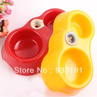 Feeding & Watering Supplies LX0127 Dogs 5 Pcs lot Automatic Water Drinking Feeding Basin For Cats Pets Puppy Dogs Food Bowls New Free Shipping&Drop Shipping