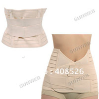 Wholesale Invisible Tummy Trimmers Waist Trimmer Belt Slimming Belt Perfect Curve Look Thinner body building belt