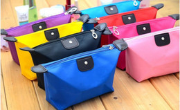 Wholesale Women Lady Girl Reto Waterproof Cosmetic Make Up Sorage Bag case Purse cm Candy colors