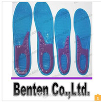 Wholesale LLFA4837 pairs sport silicone massaging gel shoes insole men size women