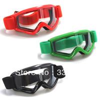 Wholesale Sport Snow Ski ATV Motocross Motorcycle Eyewear Lens Off road Quad Bike Bicycle Helmet Goggles Glasses colors