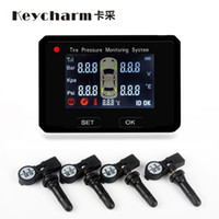 Wholesale car wireless tire pressure monitoring system universal type EC TPMS wheel internal use by EMS