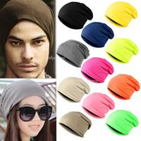 Wholesale New Hot Fashion Cool Unisex Men Women Knit Winter Warm Hip Hop Hat Cap Beanie Fx272