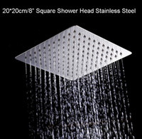 Wholesale Factory Outlet cm Stainless Steel Ultrathin Shower Head Square Rainfall Shower