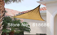 Wholesale UV Triangle Sun Shade Net m X m X3m Combination Shade Net