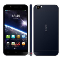 WCDMA Octa Core Android ZOPO ZP1000 Ultrathin Smartphone 5.0 Inch HD Screen MTK6592 Android 4.2 OTG 1GB 16GB - Golden Blue White