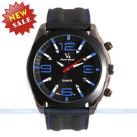 Sport Men's Round V6 Brand Japan Quartz Movement Wristwatch Fashion & Casual Outdoor Clock Men Military Sport Watch