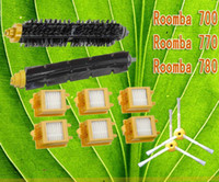 Wholesale Replacement Brush For Roomba Bristle Brush and Flexible Beater Brush arms side brushes and Filter