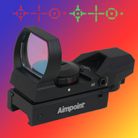 Wholesale NEW Aimpoint x22x33 Red and Green Dot Sight Scope reflex sight red dot rifle scopes AIM1X22X33RG