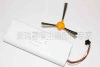 Wholesale 14 V mAh Replacement battery for Ecovacs Deebot D58 D56 D54 Vacuum Cleaner with Free Side brush piece