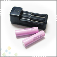 Wholesale High quality Charger Universal Charger for Electronic Cigarette Rechargeable Li ion Battery Battery DHL Free