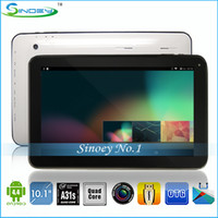 Wholesale NEW inch Quad core Allwinner A31S Bluetooth HDMI WIFI CORTEX A7 GHz D Game web camera tablet pc