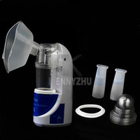 nebulizer ultrasonic - Professional Ultrasonic Household Medical Nebulizer Fogger Atomization Inhalation Machine for Adult Kid