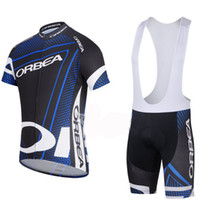 Wholesale 2014 New Orbea Pro Men s Summer Cycling Jersey Sets Bicycle Clothes Bicycle Wear Bike Short Sleeve Jersey Bib Shorts Black