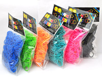 silicone gel Top quality (600 bands mix =1pack ) Rainbow Loo...