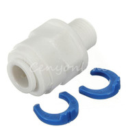 Wholesale Utility BSP to Push Fit Connector Water Fliter Outside Screw For Home Decroration