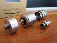 Replaceable 2.0ml  New E-Cigarette 3D Atomizer 3D Clearomizer Kit Airflow Control Vaporizer For E-Cig Mod Like Hammer King Maraxus Nemesis Tesla Vmax retail