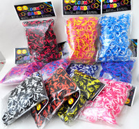 Unisex 5-7 Years Multicolor Neon Rainbow Loom Refill Bands for Rainbow Loom Bracelet DIY Mix Color t(600 pcs bands+24 pcs S-clips)