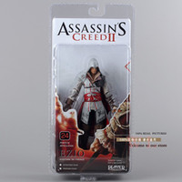 Finished Goods big figurine - NECA Assassin s Creed II EZIO PVC Action Figurine Collection Toy White quot cm MVFG026