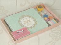 album scrapbook kit - Wedding Scrapbooking Kit Children Photo Albums Home Decoration Scrapbook Birthday Album Picture Handmade DIY Craft