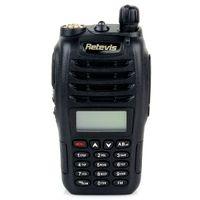 Wholesale Handheld CB Radio RETEVIS RT B6 UHF VHF Dual Band Dual Frequency Dual Display W CH Walkie Talkie Two Way Radio A7106A