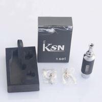Cheap 2014 New Brand KSN atomizer ViVi Nova upgrade version-KSN clearomzier one box with clearomzier DHL EMS Free